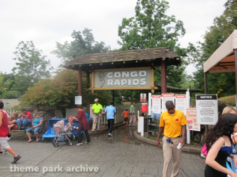 Congo Rapids at Six Flags Great Adventure