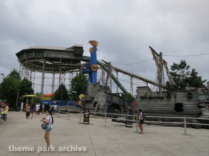 White Water Landing at Dorney Park