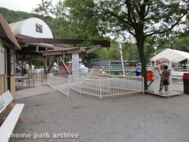 Skyride at Knoebels Amusement Resort