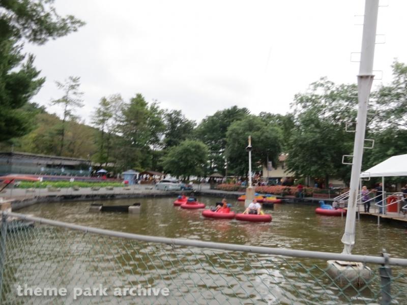 Bumper Boats at Knoebels Amusement Resort