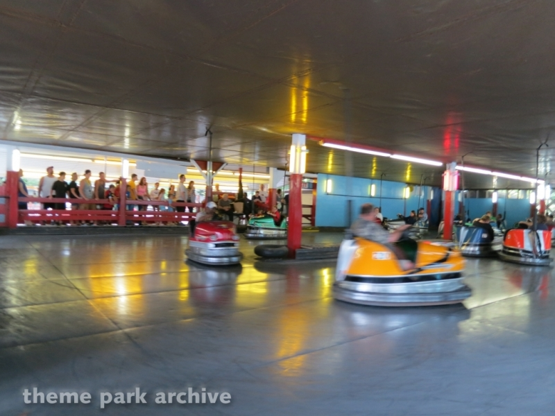 Skooter Bumper Cars at Knoebels Amusement Resort