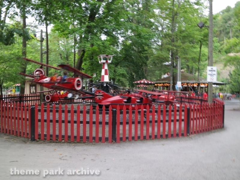 Red Baron at Knoebels Amusement Resort