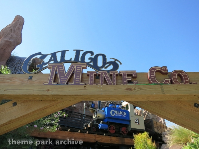 Calico Mine Ride at Knott's Berry Farm