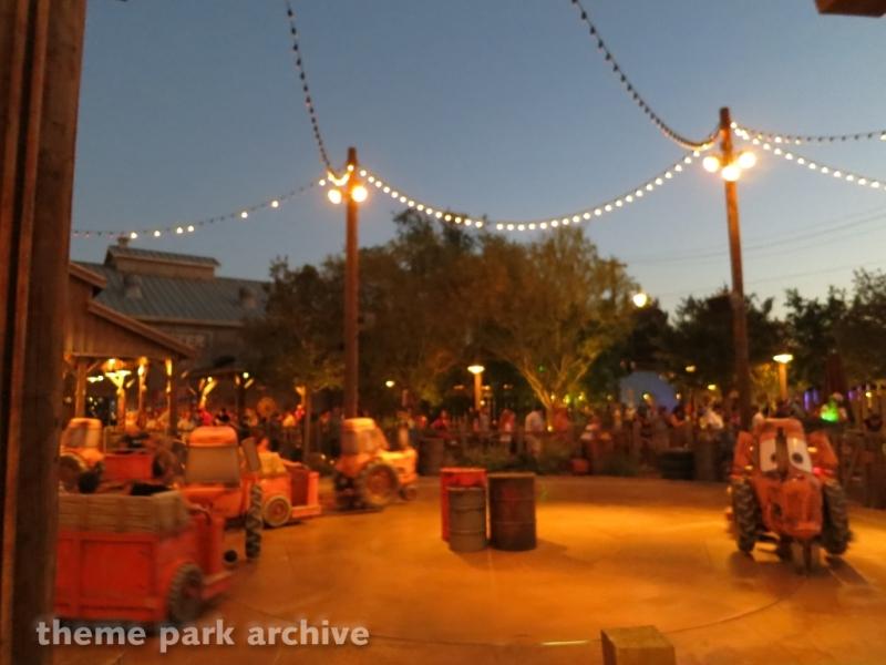 Mater's Junkyard Jamboree at Disney California Adventure