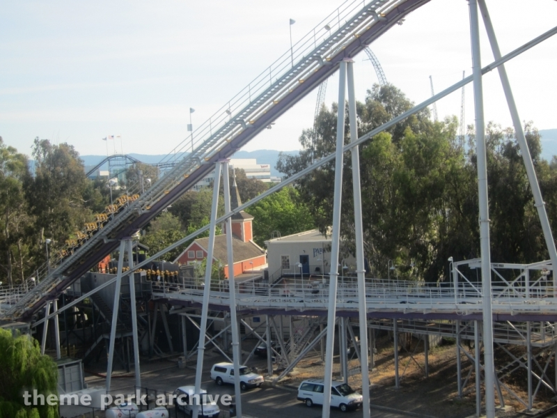 Vortex at California's Great America