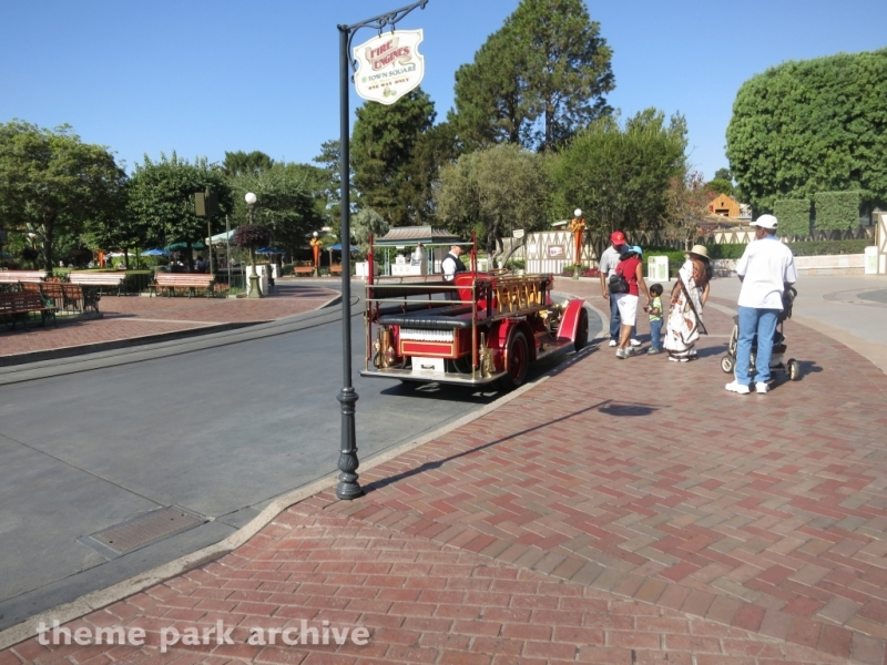 Main Street Vehicles at Disneyland
