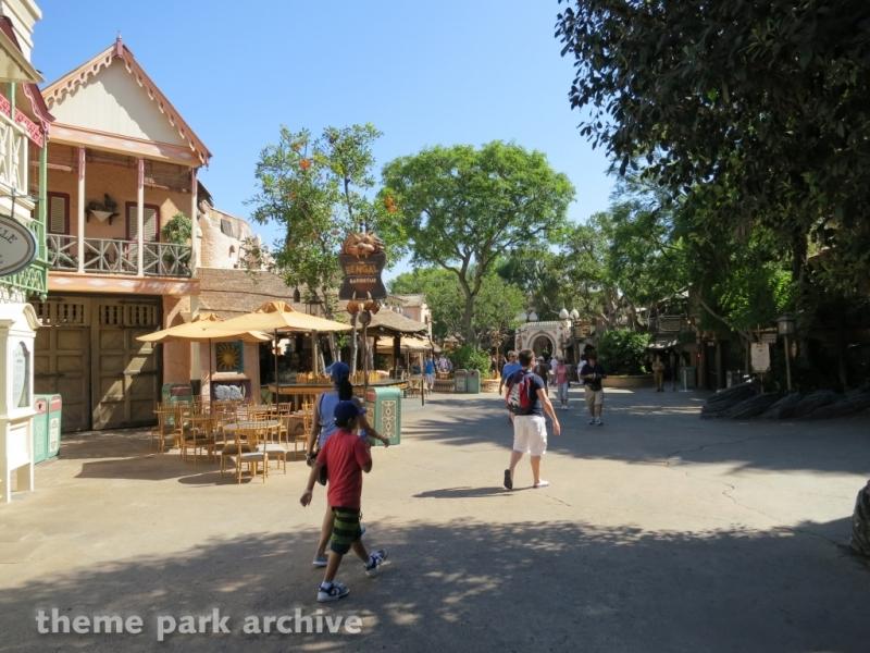 Adventureland at Disneyland