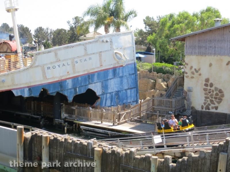 Shipwreck Rapids at Sea World San Diego
