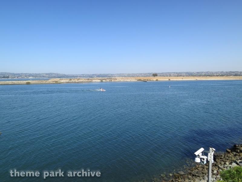 Bayside Skyride at Sea World San Diego