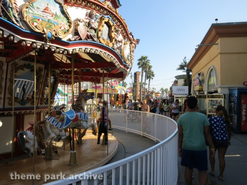 The Liberty Carousel at Belmont Park
