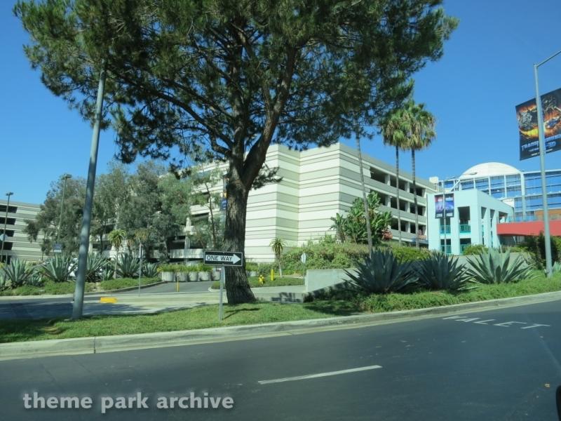Parking at Universal City Walk Hollywood