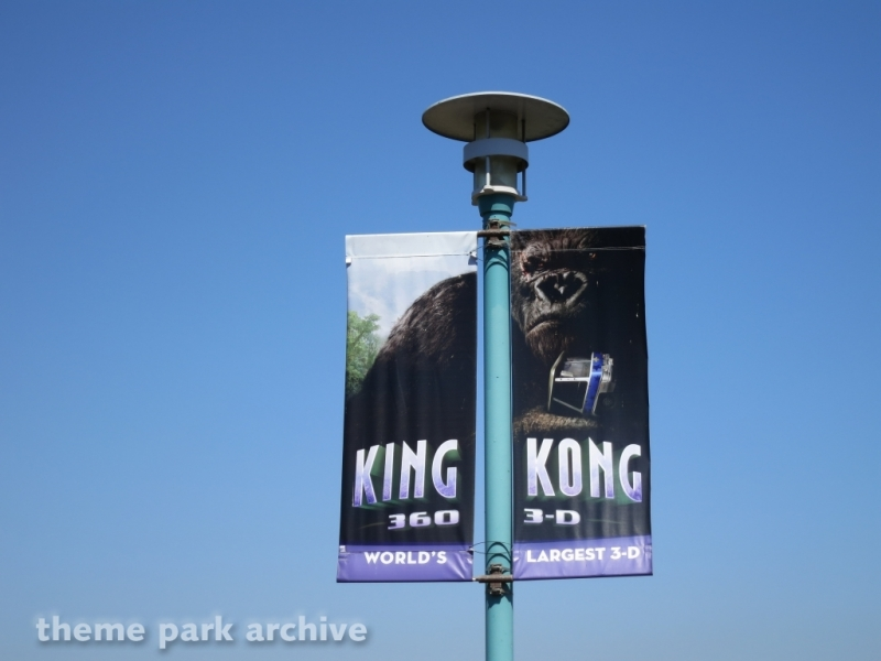 King Kong 360 3D at Universal Studios Hollywood