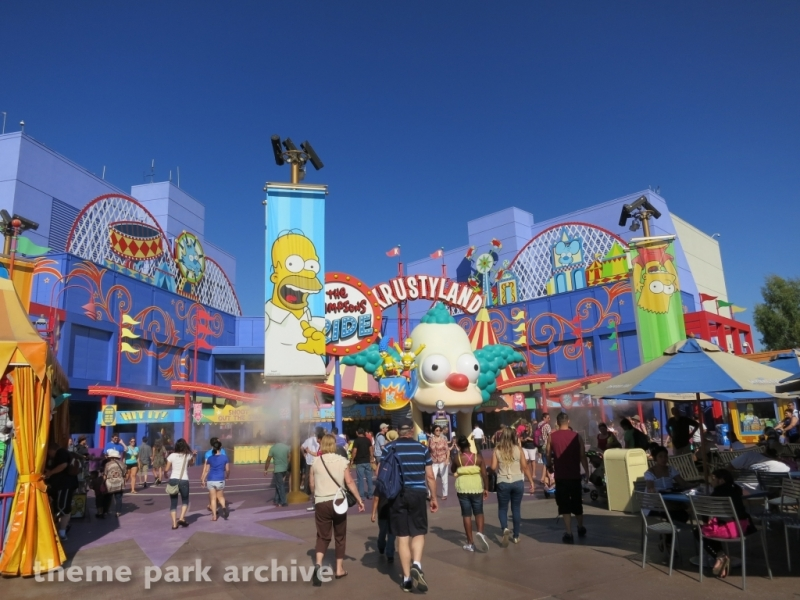 The Simpsons Ride at Universal Studios Hollywood