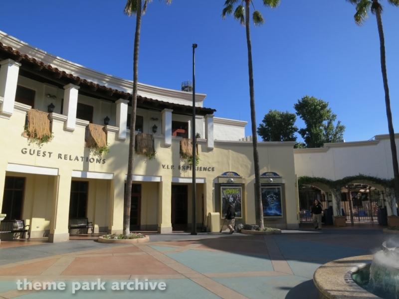 Park Entrance at Universal Studios Hollywood