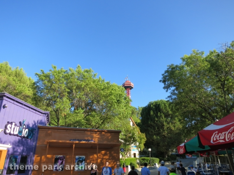 Sky Tower at Six Flags Magic Mountain