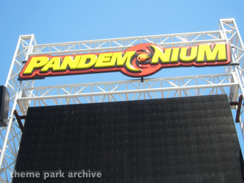 Pandemonium at Six Flags Discovery Kingdom