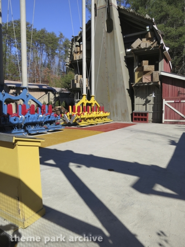 Barnstormer at Dollywood