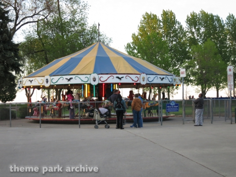 Merry Go Round at Bay Beach Amusement Park