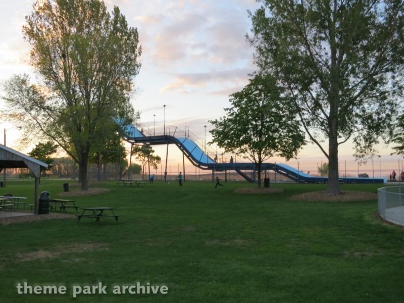 Giant Slide at Bay Beach Amusement Park