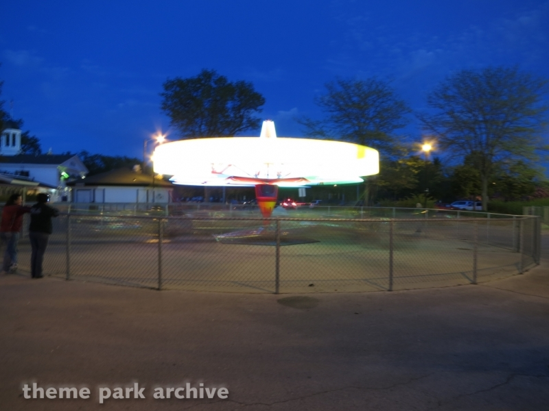 Scrambler at Bay Beach Amusement Park