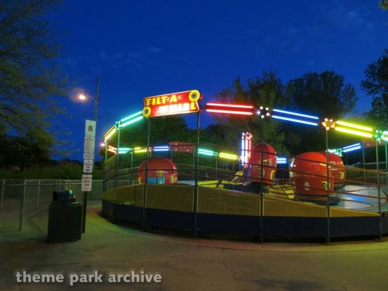 Tilt A Whirl at Bay Beach Amusement Park