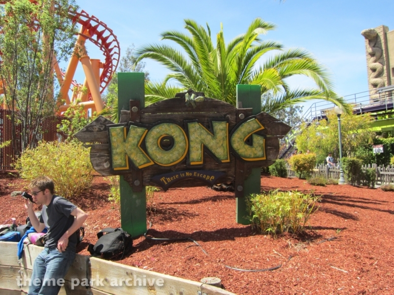 Kong at Six Flags Discovery Kingdom