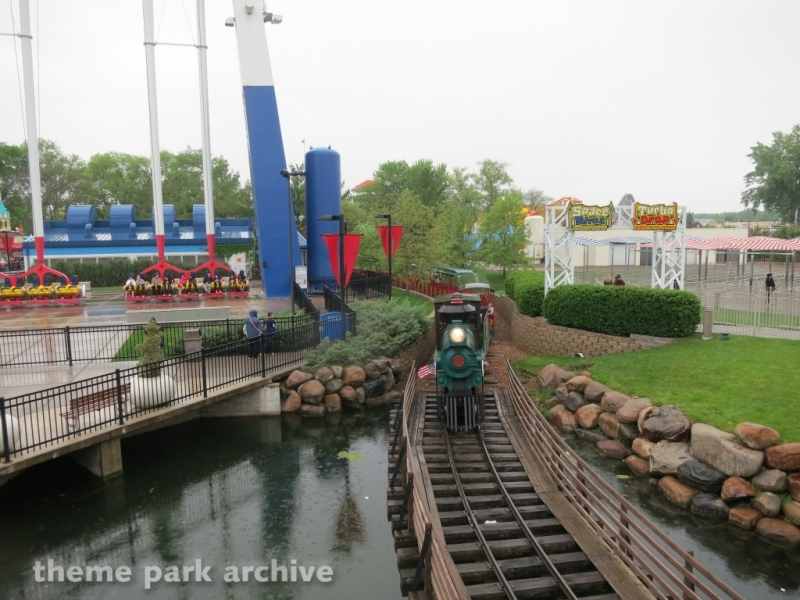 Train at Valleyfair