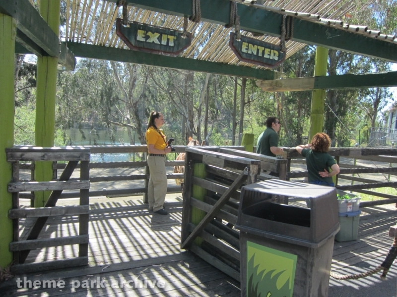 Tiger Island at Six Flags Discovery Kingdom