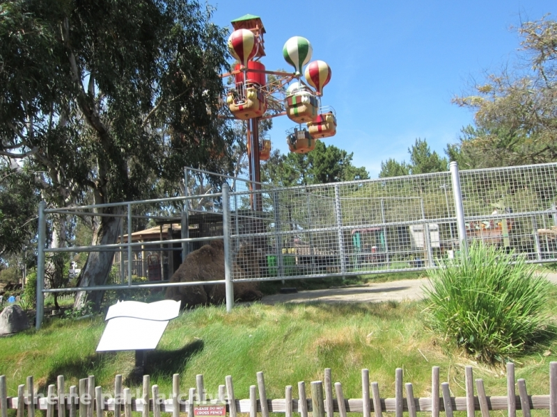 Elmer's Weather Balloon Service at Six Flags Discovery Kingdom