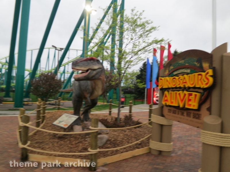 Dinosaurs Alive at Valleyfair