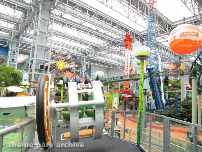 Brain Surge at Nickelodeon Universe at Mall of America