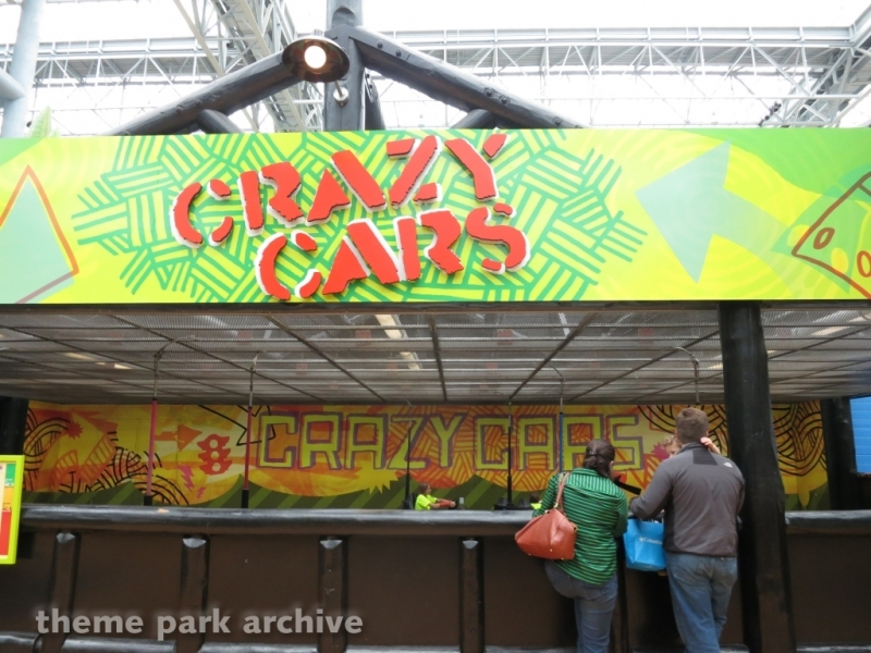 Crazy Cars at Nickelodeon Universe at Mall of America