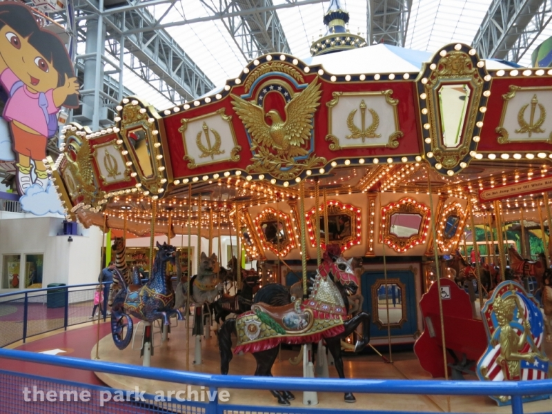 Carousel at Nickelodeon Universe at Mall of America