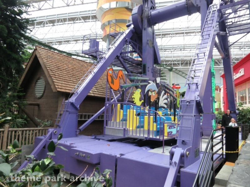 Danny Phantom Ghost Zone at Nickelodeon Universe at Mall of America