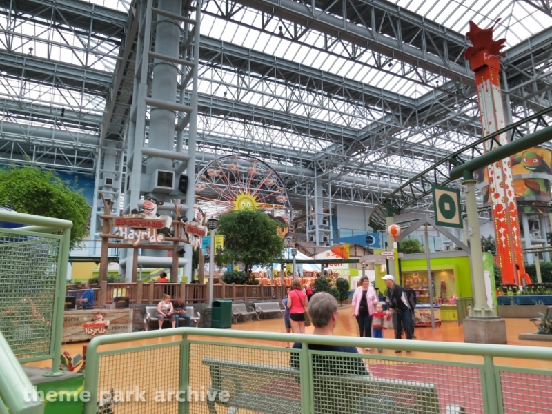 Back at the Barnyard Hayride at Nickelodeon Universe at Mall of America