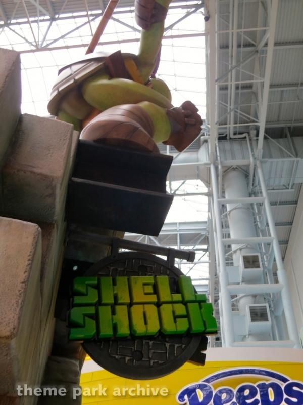 Teenage Mutant Ninja Turtles Shell Shock at Nickelodeon Universe at Mall of America