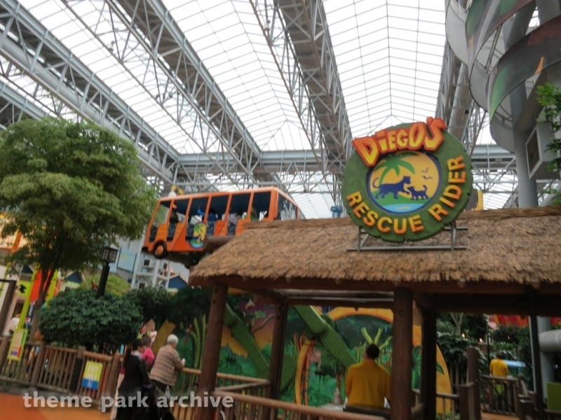 Diego's Rescue Rider at Nickelodeon Universe at Mall of America