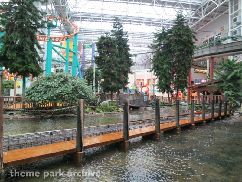 Avatar Airbender at Nickelodeon Universe at Mall of America