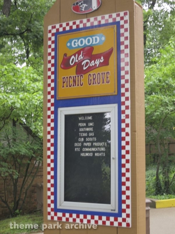 Good Old Days Picnic Grove at Holiday World