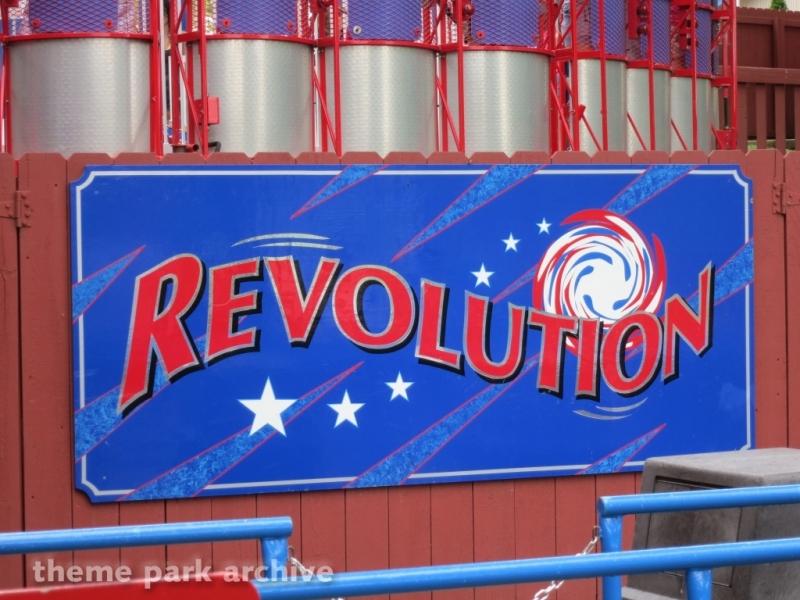 Revolution at Holiday World