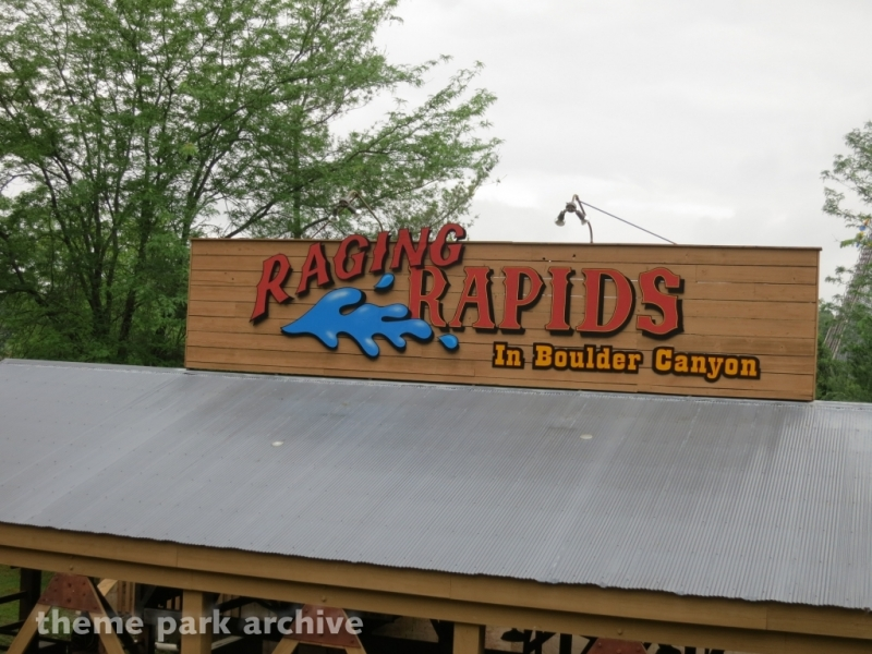 Raging Rapids at Holiday World