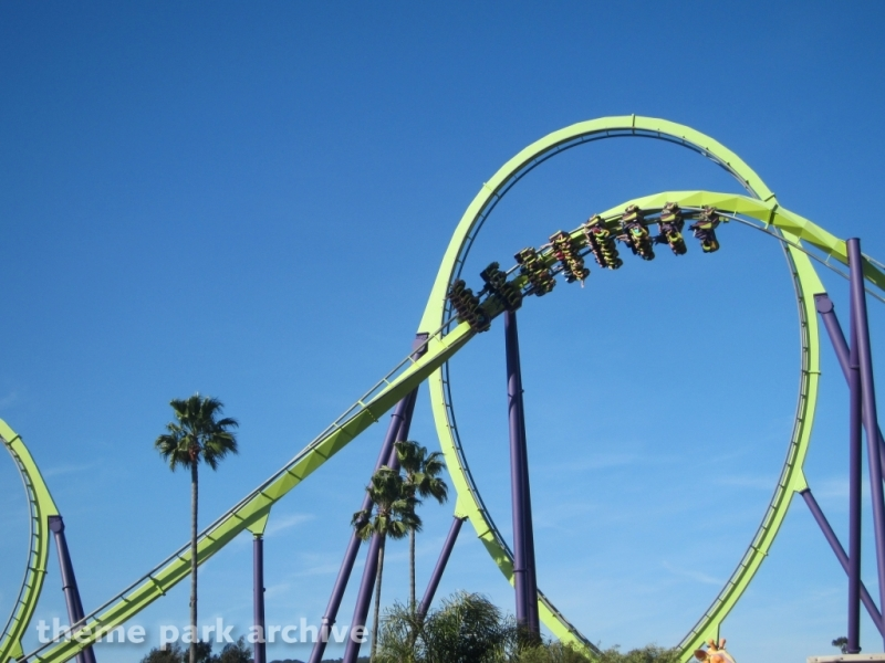 Medusa at Six Flags Discovery Kingdom