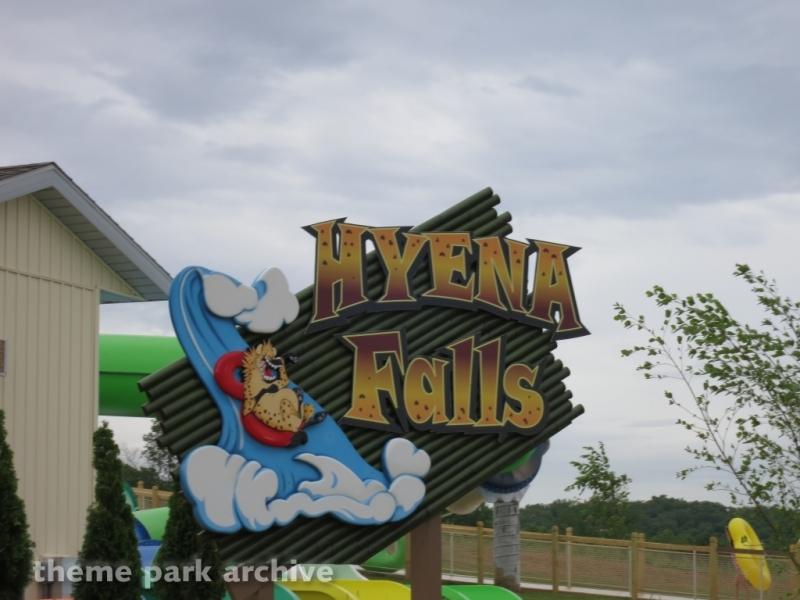 Hyena Falls at Holiday World