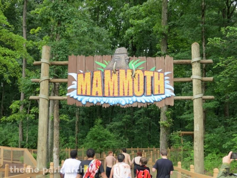 Mammoth at Holiday World