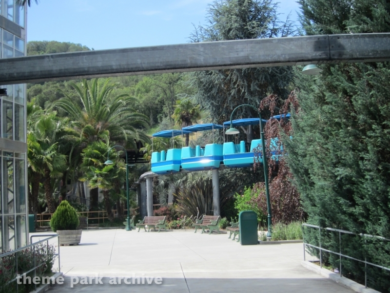 Sky Trail Monorail at Gilroy Gardens