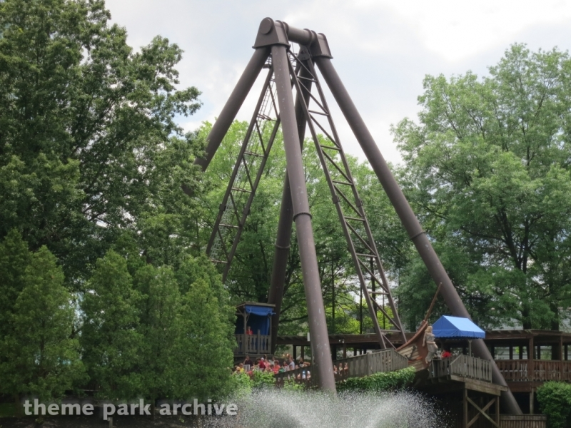Viking Fury at Kings Island