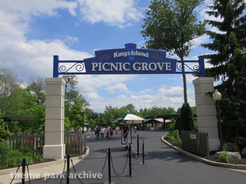 Picnic Grove at Kings Island