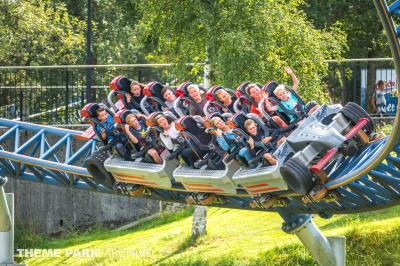 We visit the largest theme park in Norway