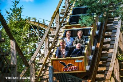 We ride an Alan Schilke designed coaster in Denmark