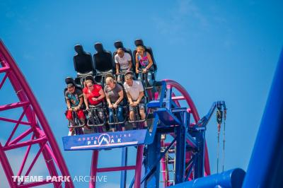 We ride Adrenaline Peak